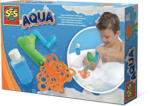 SES 13066 Aqua Super Bubble Bath Toy with Mixer