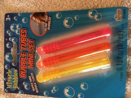 Miracle Bubbles Bubble Tubes Mini set 3 tubes