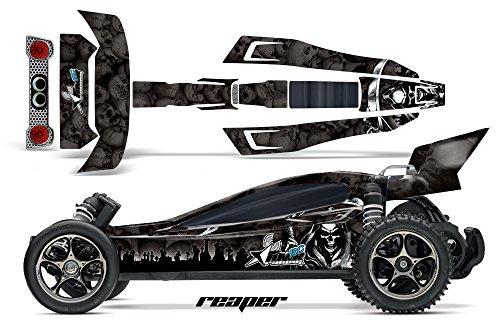 Designer Decal for Traxxas Bandit VXL 110 2407L AMRRACING RC Kit - Reaper - Black