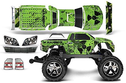 Designer Decal for Traxxas Stampede VXL 110 6708L AMRRACING RC Kit - Meltdown - BlackGreen