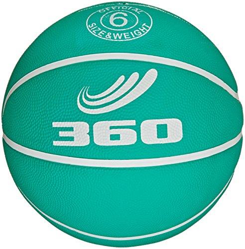 360 Athletics Playground Rubber Basketball Size 6 Green