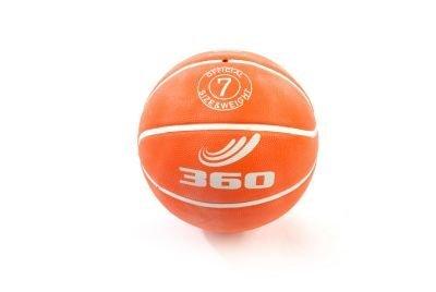 360 Athletics Playground Rubber Basketball Size 7 Orange by 360 Athletics