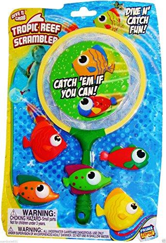 Dive N Grab Tropic Reef Scrambler Pool Toyfun Pool Toydive Toy