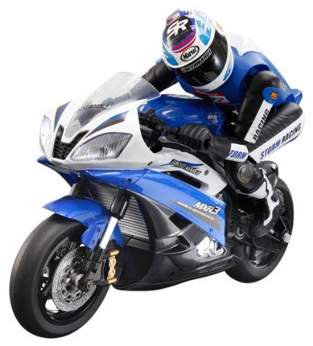 Electric Rc Motorbike Street Racer Blue