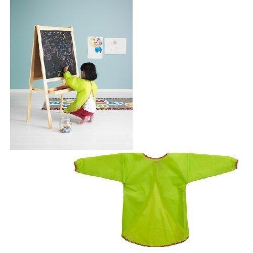 Children Art Craft Long Sleeve Designers Painting Drawing Cooking Boy Girl Apron Cloth Smocks
