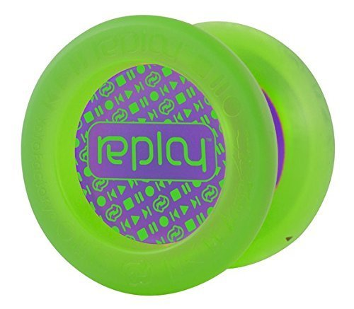 Replay Green Responsive Yo Yo Beginner Type Gentry Stein Edition From The YOYOFACTORY by Replay