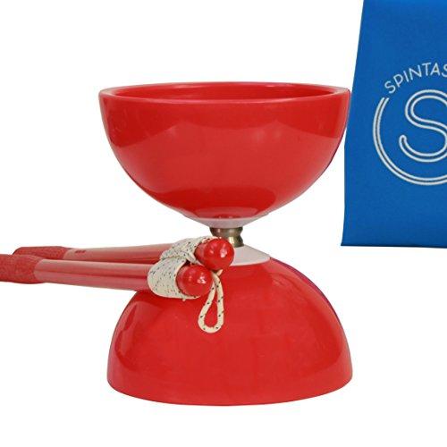 Spintastics Red Diabolo Pro Chinese Yoyo