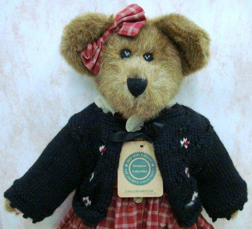 15 Retired Lisa T Bearringer Jointed Teddy Bear