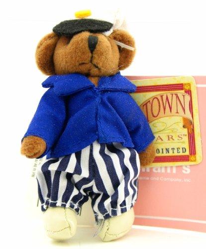 Russ Tiny Town Miniature Jointed Plush Teddy Bear Nautical Sailor 3-12