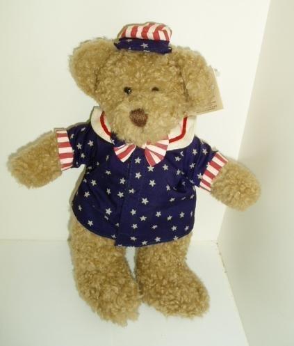 Ode to America Patriotic Russ Bear - George 10
