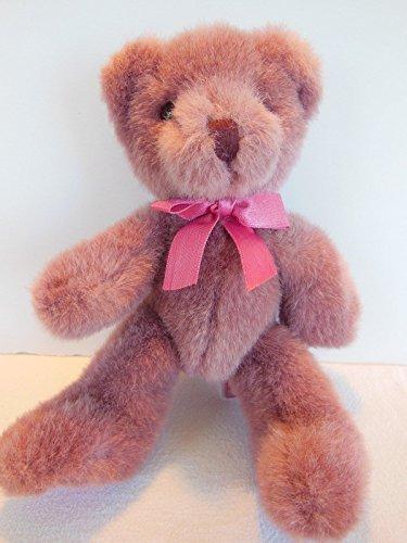 Teddy Bear by Russ Bear Hugs Line Purple Mauve 14 Weighted Bear