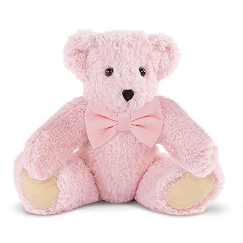 Vermont Teddy Bear Floppy Bear - Pink Teddy Bear 15 Inch Pink