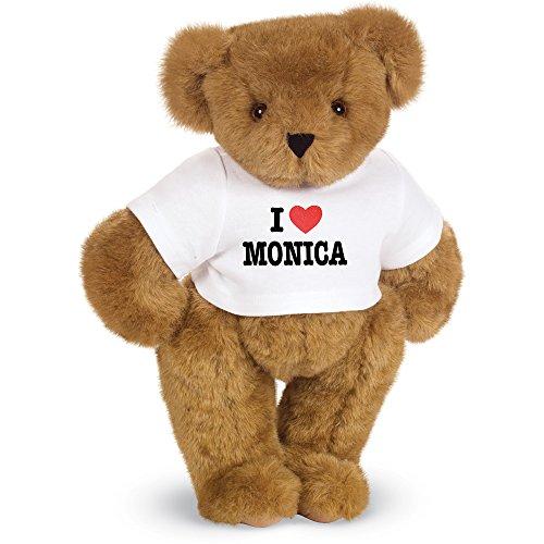 Vermont Teddy Bear Stuffed Bears - Teddy Bears I Heart You Custom 15 Inch