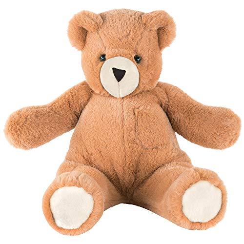 Vermont Teddy Bear Teddy Bears - Teddy Bear for Kids with Hidden Pockets for Play 18 Inch