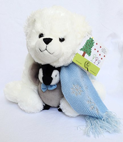 St Judes HOPE Polar Bear with Penguin 12 Plush