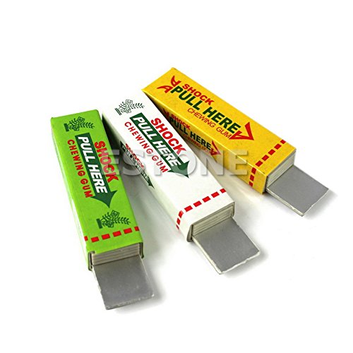 ONcemoRE Electric Shock Chewing Gum Prank Joke Gag Trick 1PC
