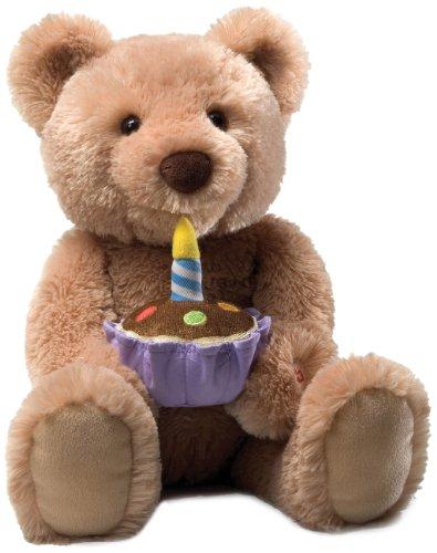 Gund Birthday Teddy Bear Animated Musical Stuffed Animal