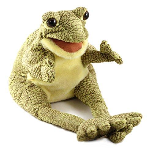 Folkmanis Frog Hand Puppet - F871 B405