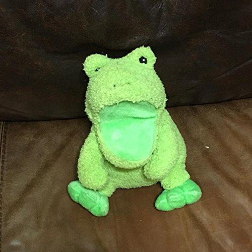 SGA Products Plush Frog Hand Puppet Sounds Rib-BIT 10
