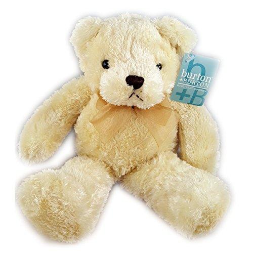 Burton Burton 2006 Cream Teddy Bear Plush 11