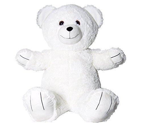 U-B Cuddly 2ft Tall Jumbo Happy Anniversary Teddy Bear-White