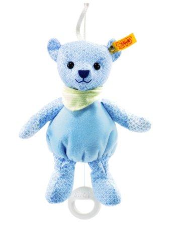 Steiff Steiffs little circus Teddy bear music box light blue Baby Plush
