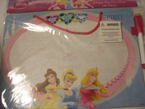 Disney Princess Hanging Dry Erase Board with Marker ~ Spirit Bright