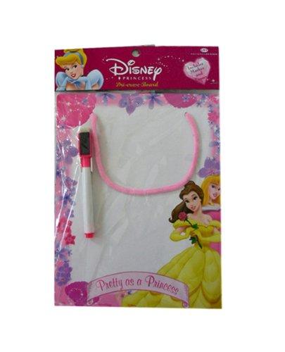 Portable Disney Princess Dry Erase Board with Marker
