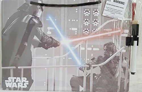 Star Wars Hanging Dry Erase Board with Marker Darth Vader and Luke