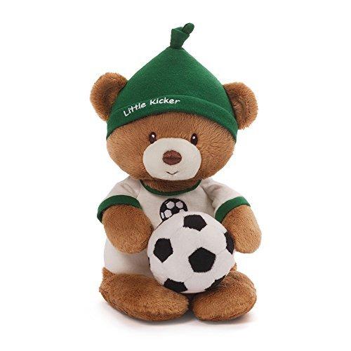 Gund Baby Teddy Bear and Rattle Little Kicker Soccer by GUND