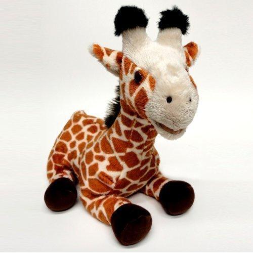 wiggy the GiraffeM talking plush soft toy animal by Zoocational by cuddle barn