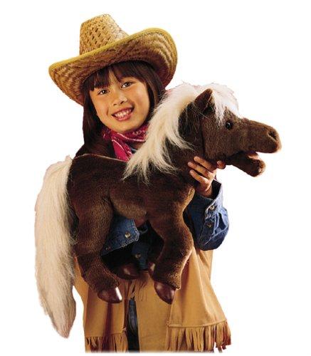 Plush Horse Puppet 18