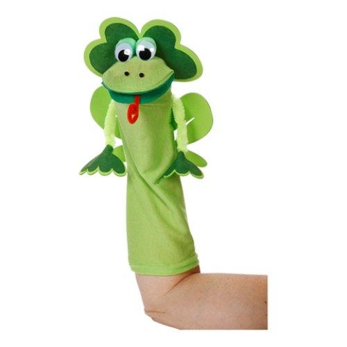 Art Wall Sock Friends Puppets Kit Frog