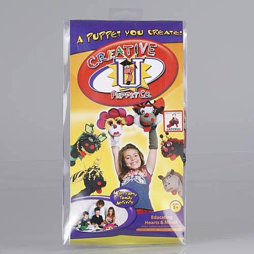 Creative U Puppet Co Phyllis the Lady Bug Sock Puppet Kit