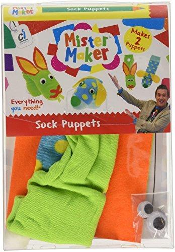 Mister Maker Sock Puppets by Mister Maker