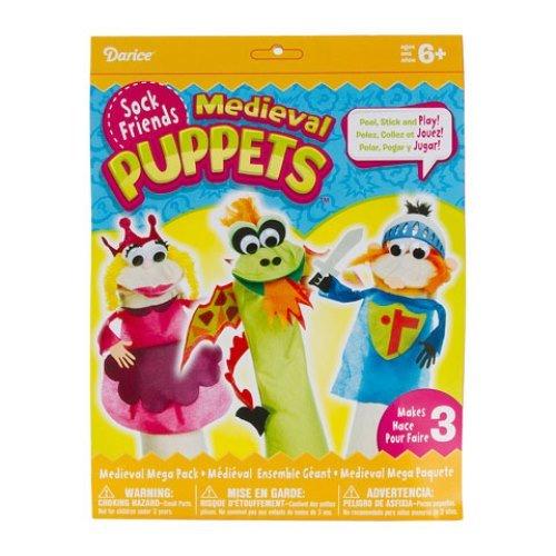 WeGlow International Medieval Princess Mega Pack Sock Puppet Kit