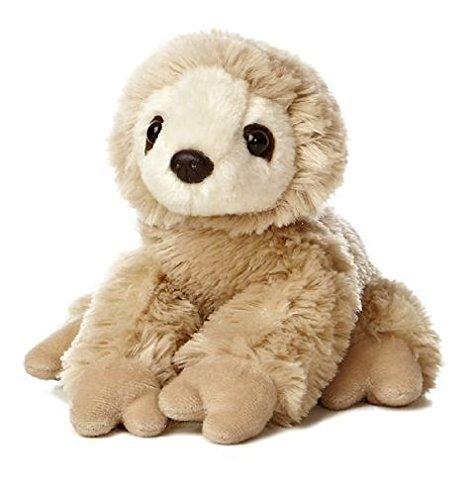 8 Tan Sloth Plush Stuffed Animal Toy