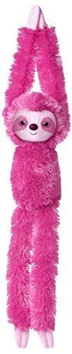 Aurora World Hanging Sloth Plush Toy Pink by Aurora