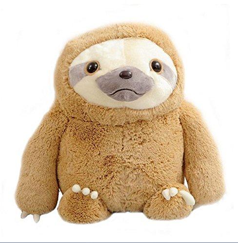 Cute 40CM Sloth Baby Doll Plush Toys Lifelike Sloth Plush Toys Stuffed Dolls Stuffed Toys Kids Lovely Doll Christmas Gifts