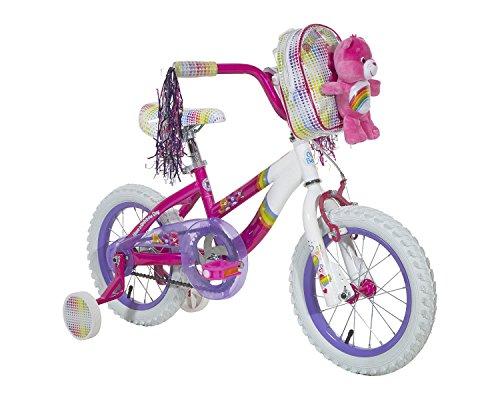 Care Bears Girls Bike 14 PinkWhitePurple