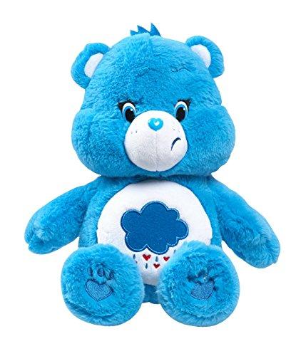 Just Play Care Bears Grumpy Medium Plush with DVD