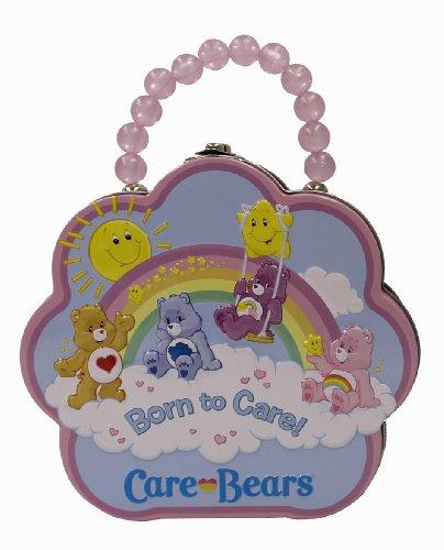 The Tin Box Company 637707-12 Care Bears Flower Carry All Tin- Assorted