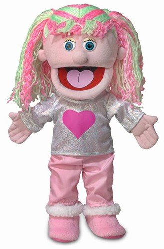 14 Kimmie Pink Girl Hand Puppet