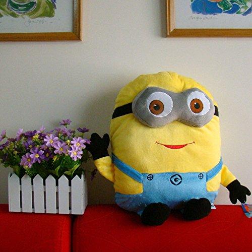 Despicable Me Minion Plush Stuffed Cushion Pillow 17 Big Yellow Dave Doll