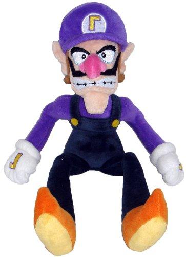 Super Mario Plush - 11 Waluigi Soft Stuffed Plush Toy Japanese Import
