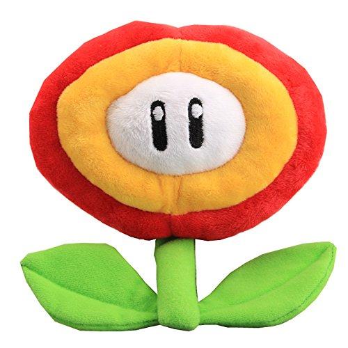 uiuoutoy Super Mario Bros Fire Flower Plush 7