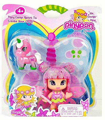 Pinypon Fairy Friend w Magical Unicorn Friend
