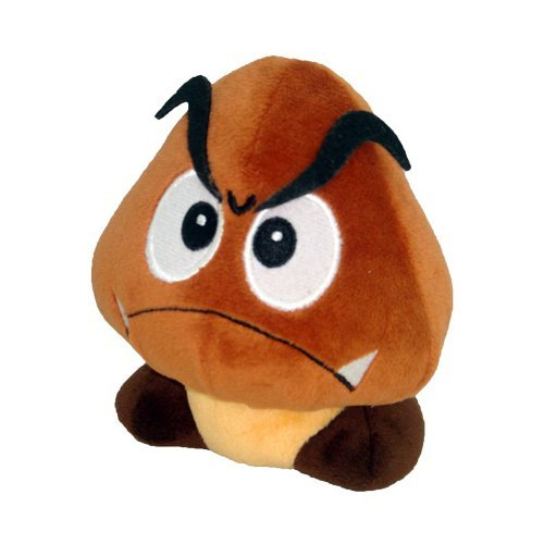 Little Buddy Official Super Mario Plush - 5 Goomba Plush by Global Holdings