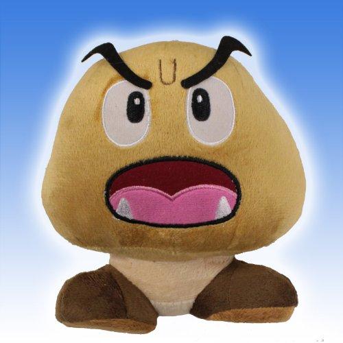 Super Mario Brothers 6 GOOMBA PLUSH FIGURE - NINTENDO