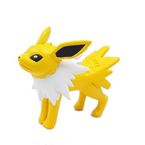 Action Toy Figures - Pikachu Action Figure Toy eevee Vaporeon Jolteon Flareon Espeon Umbreon Leafeon Glaceon Sylveon Pocket Monster manga Anime White
